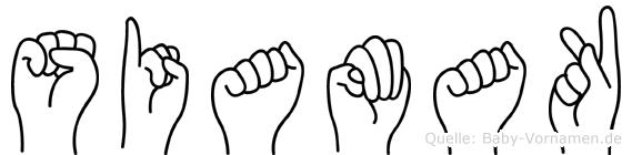 Siamak im Fingeralphabet der Deutschen Gebärdensprache