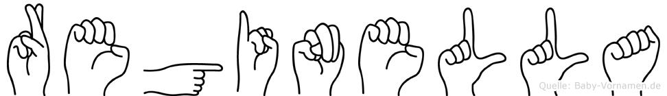 Reginella in Fingersprache für Gehörlose