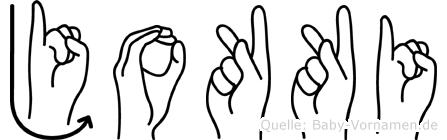 Jokki in Fingersprache für Gehörlose