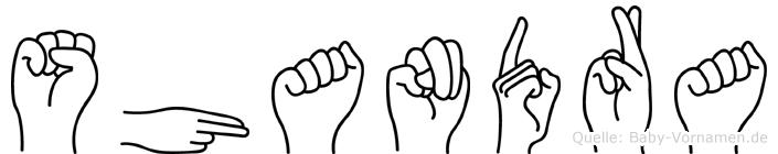 Shandra in Fingersprache für Gehörlose