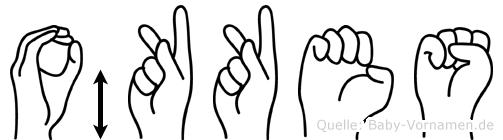 Ökkes in Fingersprache für Gehörlose