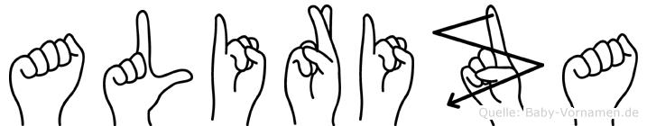 Aliriza in Fingersprache für Gehörlose