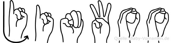Jinwoo in Fingersprache für Gehörlose