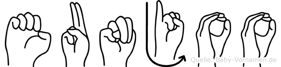 Eunjoo in Fingersprache für Gehörlose