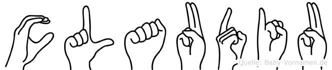 Claudiu in Fingersprache für Gehörlose