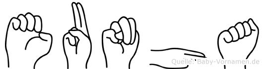Eunha in Fingersprache für Gehörlose