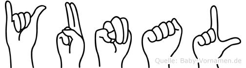 Yunal in Fingersprache für Gehörlose