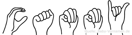 Cammy in Fingersprache für Gehörlose