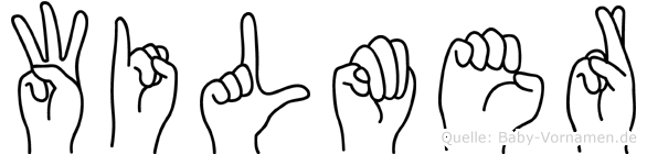 Wilmer in Fingersprache für Gehörlose