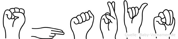 Sharyn im Fingeralphabet der Deutschen Gebärdensprache