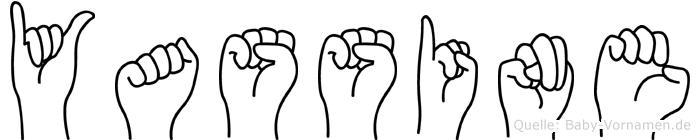 Yassine im Fingeralphabet der Deutschen Gebärdensprache