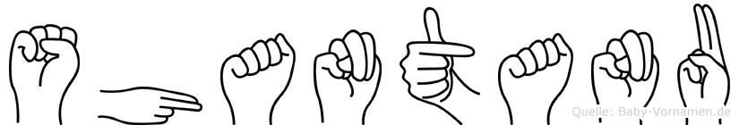Shantanu im Fingeralphabet der Deutschen Gebärdensprache