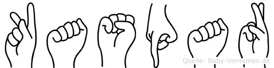Kaspar in Fingersprache für Gehörlose