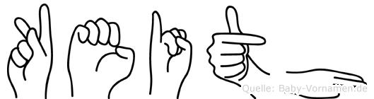 Keith in Fingersprache für Gehörlose