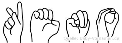 Keno in Fingersprache für Gehörlose