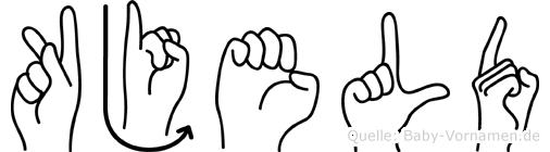 Kjeld in Fingersprache für Gehörlose