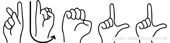 Kjell in Fingersprache für Gehörlose