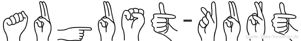 August-Kurt im Fingeralphabet der Deutschen Gebärdensprache