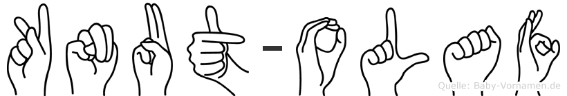 Knut-Olaf im Fingeralphabet der Deutschen Gebärdensprache