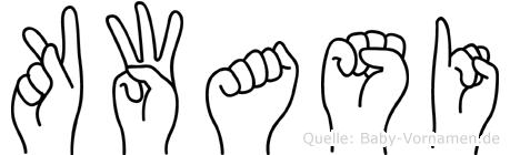 Kwasi in Fingersprache für Gehörlose