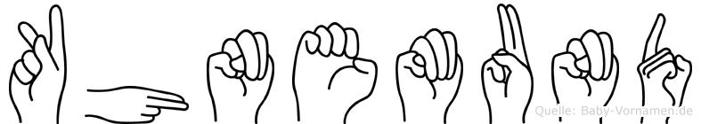 Kühnemund in Fingersprache für Gehörlose