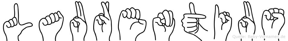Laurentius in Fingersprache für Gehörlose