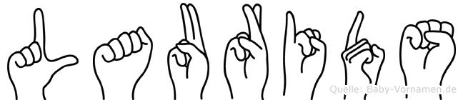 Laurids in Fingersprache für Gehörlose