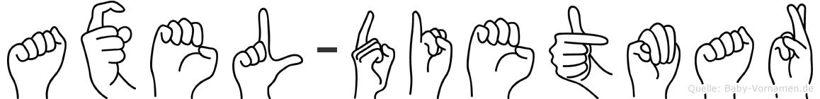 Axel-Dietmar im Fingeralphabet der Deutschen Gebärdensprache