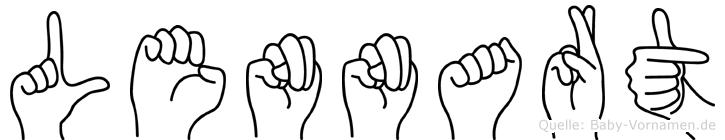 Lennart in Fingersprache für Gehörlose