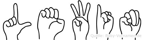 Lewin in Fingersprache für Gehörlose