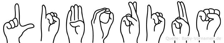 Liborius in Fingersprache für Gehörlose