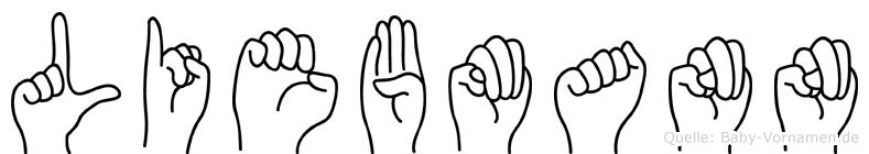 Liebmann in Fingersprache für Gehörlose