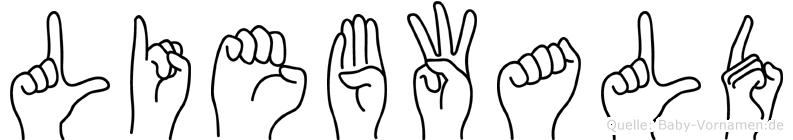 Liebwald in Fingersprache für Gehörlose