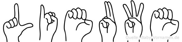 Lieuwe in Fingersprache für Gehörlose