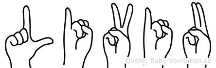 Liviu in Fingersprache für Gehörlose