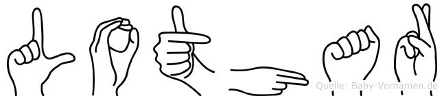 Lothar in Fingersprache für Gehörlose