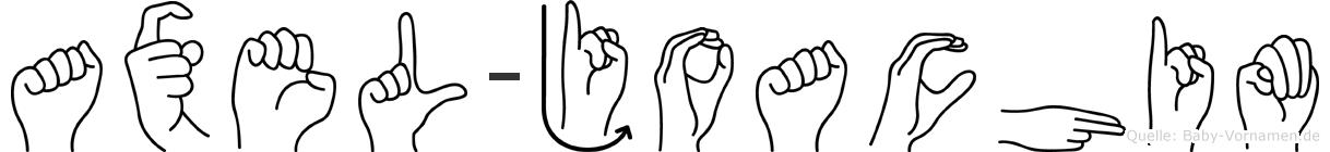 Axel-Joachim im Fingeralphabet der Deutschen Gebärdensprache
