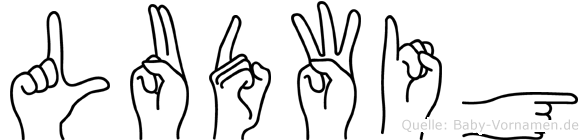 Ludwig in Fingersprache für Gehörlose