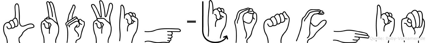 Ludwig-Joachim im Fingeralphabet der Deutschen Gebärdensprache