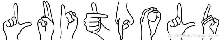 Luitpold in Fingersprache für Gehörlose