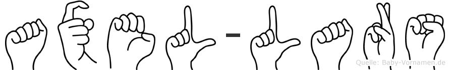 Axel-Lars im Fingeralphabet der Deutschen Gebärdensprache