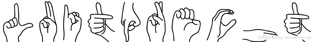 Luitprecht in Fingersprache für Gehörlose