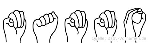 Mammo in Fingersprache für Gehörlose