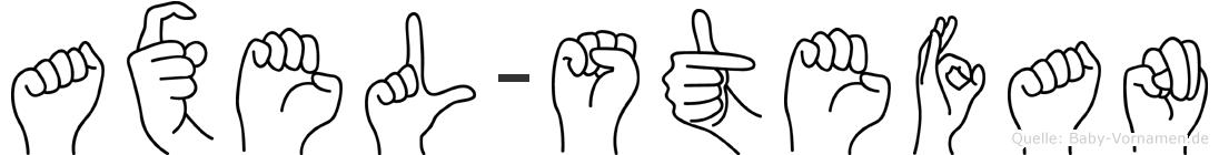 Axel-Stefan im Fingeralphabet der Deutschen Gebärdensprache