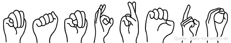Manfredo in Fingersprache für Gehörlose