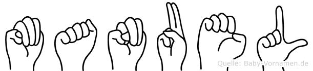 Manuel in Fingersprache für Gehörlose