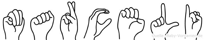 Marceli in Fingersprache für Gehörlose