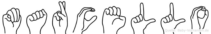 Marcello in Fingersprache für Gehörlose