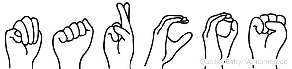 Marcos in Fingersprache für Gehörlose