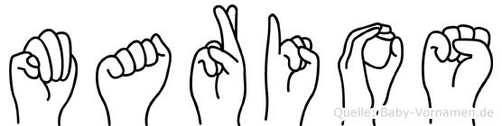 Marios in Fingersprache für Gehörlose